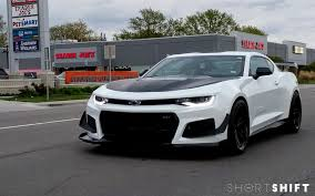 spotted 2018 chevrolet camaro zl1 1le
