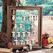rustic wedding favors wedding favor frame idea