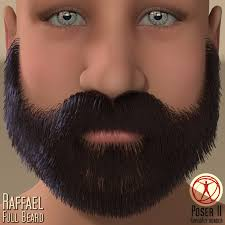 3dream by Raffael Full Beard 3d Figure Assets 3dream