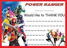 power rangers wrapping paper power rangers cards and stationery ebay
