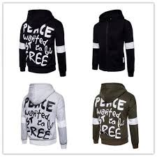 peace wanted just to be free hoodie lettering for men hip hop