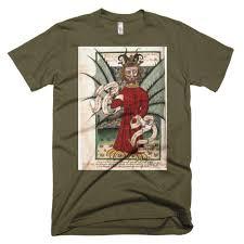 medieval satan devil short sleeve occult t shirt the luciferian