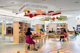 Interior Design Library by The Design Cure Applying Exhibit Design Expertise To Schools