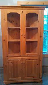 Used Corner Curio Cabinets For Sale 399 Best Garage Sale Furniture Images On Pinterest Garage Hoods
