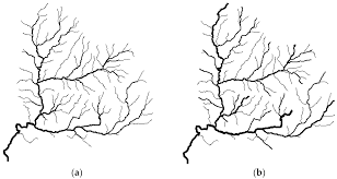 What Is Trellis Drainage Pattern Ijgi Free Full Text Evaluation Of River Network Generalization