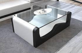 Wohnzimmertisch Luxus Moderner Couchtisch Wave Mit Glassplatte Passend Für Wave Sofas