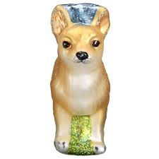 chihuahua ornament by world outer layer