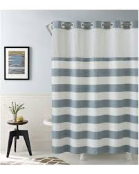 Hookless Waffle Shower Curtain Spectacular Deal On Hookless Cabana Stripe 86 Inch X 71 Inch