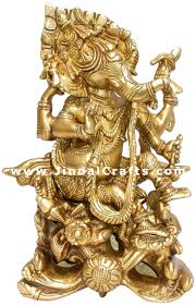 God Statue by Ganesh Indian God Statue Hindu Handmade Artifact