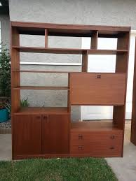 Mid Century Modern Furniture San Diego by Lge Mid Century Modern Shelving Unit Room Divider In San Diego