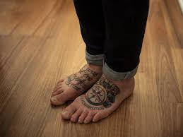 image result for traditional compass tattoo foot tattoos