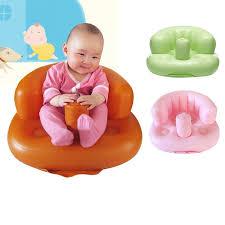 siege bebe gonflable 3 couleurs bébé apprendre siège petit canapé portable bébé chaise