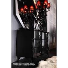 a u0026x ovidius black lacquer nightstand bedroom a u0026x luxury casa