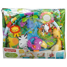 fisher price rainforest music and lights deluxe gym playset rainforest music lights deluxe gym