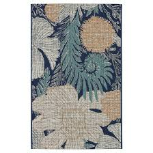 Fade Resistant Outdoor Rugs Outdoor Rug Woodcut Floral Threshold Target