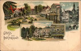 Plz Bad Pyrmont Bad Pyrmont Altenauplatz Mit Drakevase Postamt Kaiserplatz