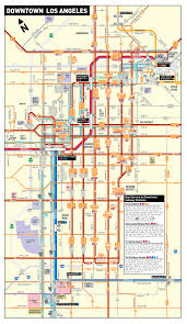 Red Line Map How To Get To Saturday U0027s Women U0027s March In Los Angeles Curbed La