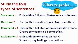 types of sentences worksheets english grammar activities worksheets