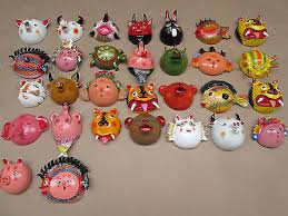 wall masks 30 coconut mask set mexican masks wall decor folk what s it