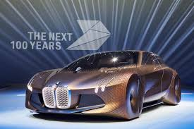 concept car of the bmw vision next 100 wheel movement business insider
