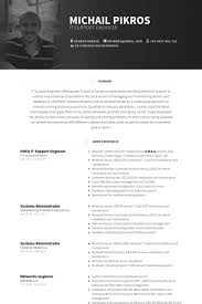 Sample Network Engineer Resume by It Support Engineer Resume Samples Visualcv Resume Samples Database