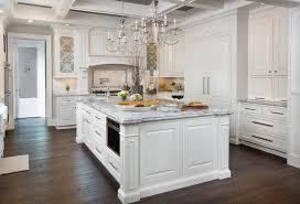 Marble Vs Granite Kitchen Countertops by Marble Vs Granite For A Shabby Chic Style Kitchen With A Black