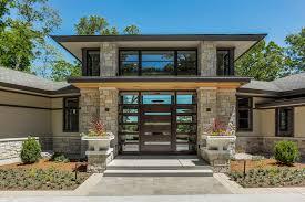 modern custom homes thornapple modern prairie bdr custom homes