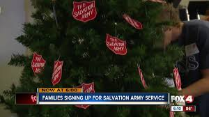 salvation army offers holiday help fox 4 now wftx fort myers