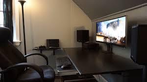 Pc Desk Setup Setup Tour Computer Desk Home Theater Tek Everything