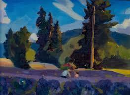 2016 oregon lavender paint out artists williamette valley