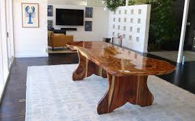 Slab Dining Room Table Tables U2014 Isak Ziegner Design