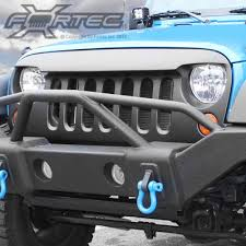 jeep wrangler front grill wild boar front grill abs black textured finish for 07 up jeep
