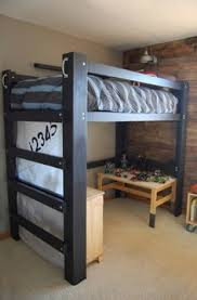 how to build a full size loft bed free diy full size loft bed plans awesome woodworking ideas how to