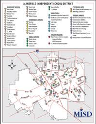 isd map mansfield independent school district attendance zones