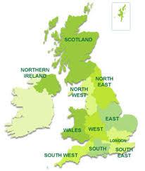 map uk ireland scotland sailing throughout scotland wales n ireland