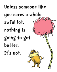 lorax coloring book dr seuss has got his head on straight lol my life lessons