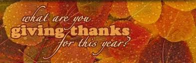 remembering to give thanks to those who got you there