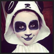 Halloween Costumes Makeup by Panda Makeup 2013 Makeup Fashion Pinterest Panda Makeup