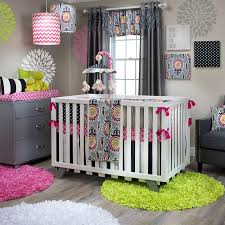 Bright Crib Bedding Pippin Glenna Jean