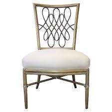 mcguire barbara barry script side chair chairish