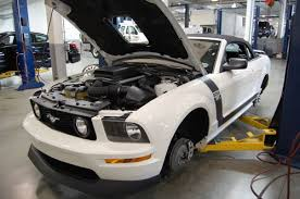 mustang auto shop how to find a tuner shop for your mustang