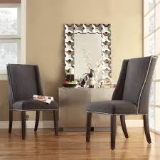 wingback dining chair dark grey fabric upholstery solid wood accent chairs wingback dining chair dark grey fabric upholstery solid wood construction living room furniture ideas