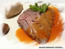 cuisiner un roti de sanglier rôti de sanglier et sa puree de marrons quand choupette et papoune