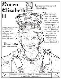 coloring books queen elizabeth ii free coloring