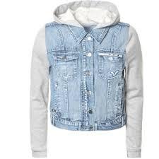 jean sweater jacket jackets 4 polyvore
