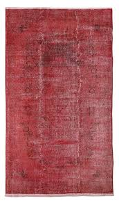 Overdyed Area Rugs by Red Rug Overdyed Rug Turkish Rug Handmade Area Rug 240x170 Cm
