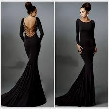 black formal dresses with sleeves naf dresses