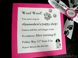 106 best puppy party images on pinterest puppy party birthday