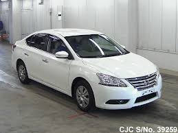 nissan sylphy 2013 nissan bluebird sylphy pearl for sale stock no 39259