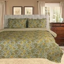 simple luxury moroccan paisley reversible quilt set u0026 reviews